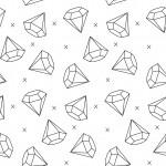 Gyémánt design egyedi szublimált textil méteráruhoz