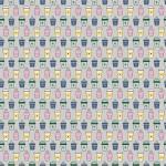 Színes poharak design egyedi szublimált textil méteráruhoz