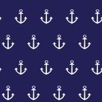 Horgonyok design egyedi szublimált textil méteráruhoz