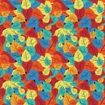 Leveles avar design egyedi szublimált textil méteráruhoz