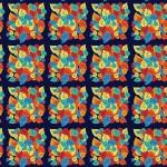 Leveles avar kockás design egyedi szublimált textil méteráruhoz