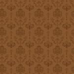 Rococo inda barnán barna design egyedi szublimált textil méteráruhoz