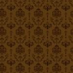 Rococo inda barnán sötétbarna design egyedi szublimált textil méteráruhoz