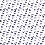 Lila cicák design egyedi szublimált textil méteráruhoz