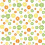 Citrom design egyedi szublimált textil méteráruhoz