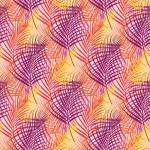 Pink pálmaágak design egyedi szublimált textil méteráruhoz