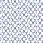 Retro kék design egyedi szublimált textil méteráruhoz