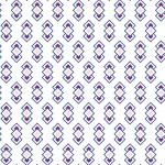 Retro lila négyzet design egyedi szublimált textil méteráruhoz