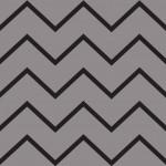 Fekete szürke farkasfog design egyedi szublimált textil méteráruhoz