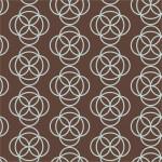 Világoskék körök design egyedi szublimált textil méteráruhoz