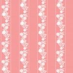 Rózsaszín kalocsai design egyedi szublimált textil méteráruhoz