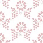 Magyaros rózsaszín fehér design egyedi szublimált textil méteráruhoz