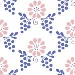 Magyaros rózsaszín kék design egyedi szublimált textil méteráruhoz