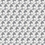 Szürke mákos design egyedi szublimált textil méteráruhoz