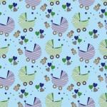 Újszülött fiú design egyedi szublimált textil méteráruhoz