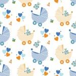 Újszülött design egyedi szublimált textil méteráruhoz