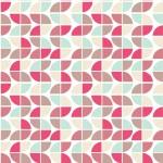 Retro rózsaszínes design egyedi szublimált textil méteráruhoz