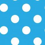 Pöttyös világoskék design egyedi szublimált textil méteráruhoz