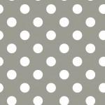 Pöttyös szürke design egyedi szublimált textil méteráruhoz