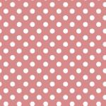 Pöttyös rózsaszín design egyedi szublimált textil méteráruhoz