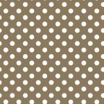 Pöttyös barna design egyedi szublimált textil méteráruhoz