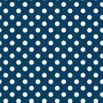 Pöttyös sötétkék design egyedi szublimált textil méteráruhoz
