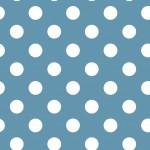 Pöttyös pasztell kék design egyedi szublimált textil méteráruhoz
