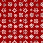 Hópehely piros design egyedi szublimált textil méteráruhoz