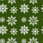 Hópehely zöld design egyedi szublimált textil méteráruhoz