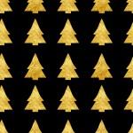 Arany fenyő design egyedi szublimált textil méteráruhoz