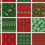 Karácsonyi minta design egyedi szublimált textil méteráruhoz