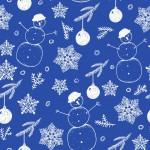 Hóemberek design egyedi szublimált textil méteráruhoz