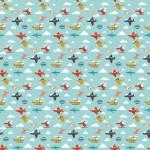 Repülők design egyedi szublimált textil méteráruhoz