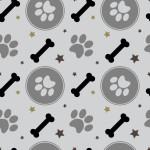 Tappancs és csont design egyedi szublimált textil méteráruhoz