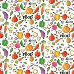 Zöldségek design egyedi szublimált textil méteráruhoz