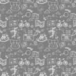 Túrázás fehér szürke design egyedi szublimált textil méteráruhoz
