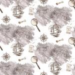 Térkép design egyedi szublimált textil méteráruhoz