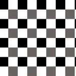 Klasszik fekete kockás design egyedi szublimált textil méteráruhoz