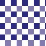 Klasszik kék kockás design egyedi szublimált textil méteráruhoz