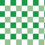 Klasszik zöld kockás design egyedi szublimált textil méteráruhoz