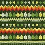 Zöld piros színátmenetes levelek design egyedi szublimált textil méteráruhoz