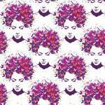 Nőcis design egyedi szublimált textil méteráruhoz