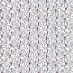 Lila és fehér betűk design egyedi szublimált textil méteráruhoz