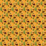 Sivatag okker alapon design egyedi szublimált textil méteráruhoz