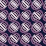 Lilahagyma design egyedi szublimált textil méteráruhoz
