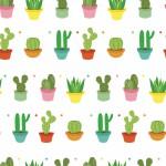 Kaktusz design egyedi szublimált textil méteráruhoz