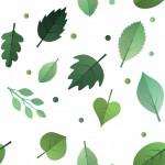 Nyári levelek design egyedi szublimált textil méteráruhoz