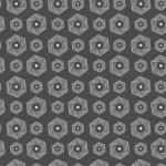 Hatszög spirál design egyedi szublimált textil méteráruhoz