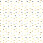Háromszínű alakzatok design egyedi szublimált textil méteráruhoz