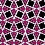 Geometrikus lila fekete design egyedi szublimált textil méteráruhoz